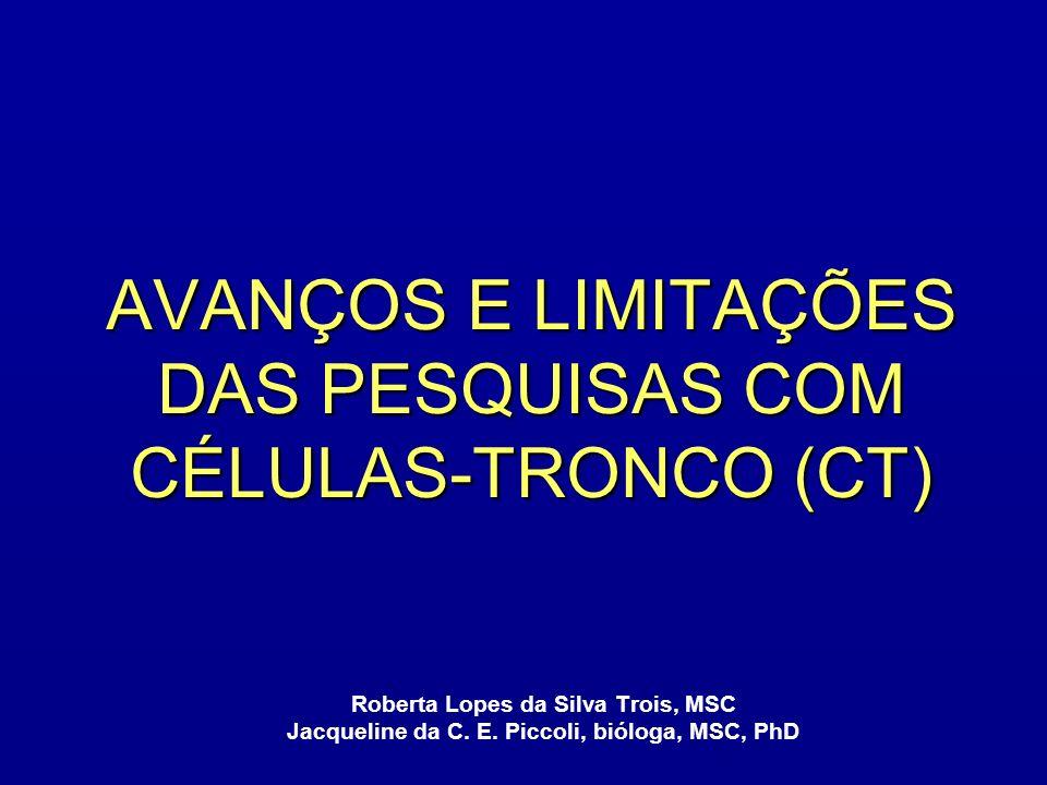 O QUE É CÉLULA-TRONCO.