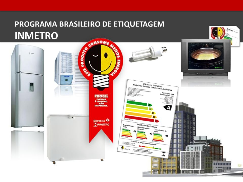 PROGRAMA BRASILEIRO DE ETIQUETAGEM INMETRO