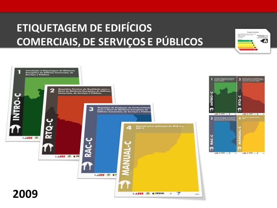 ETIQUETAGEM DE EDIFÍCIOS COMERCIAIS, DE SERVIÇOS E PÚBLICOS 2009