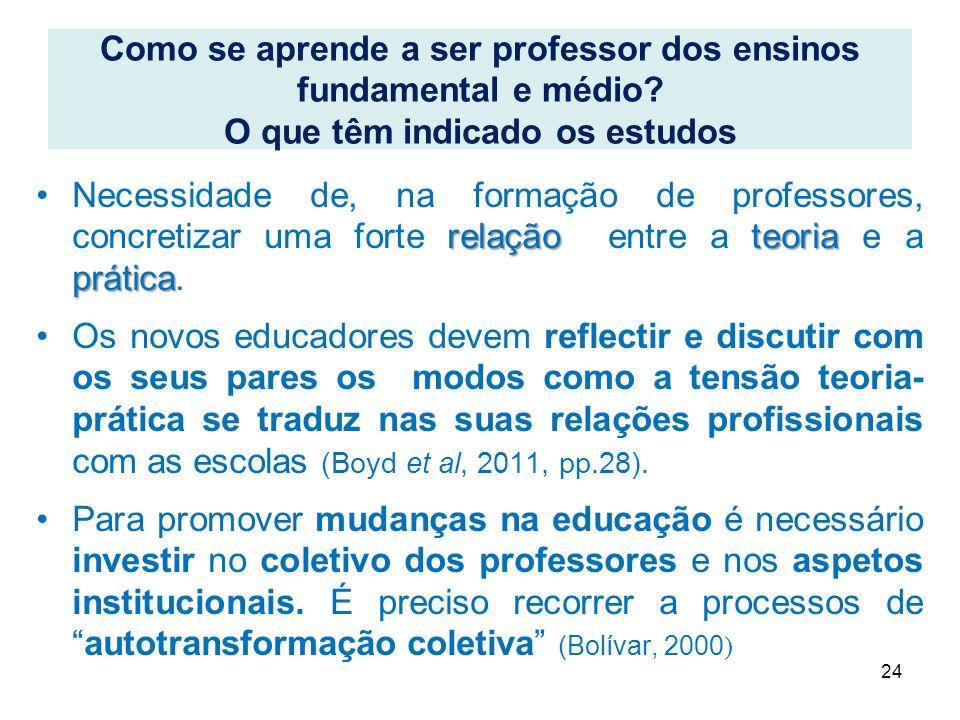 relação teoria práticaNecessidade de, na formação de professores, concretizar uma forte relação entre a teoria e a prática. Os novos educadores devem