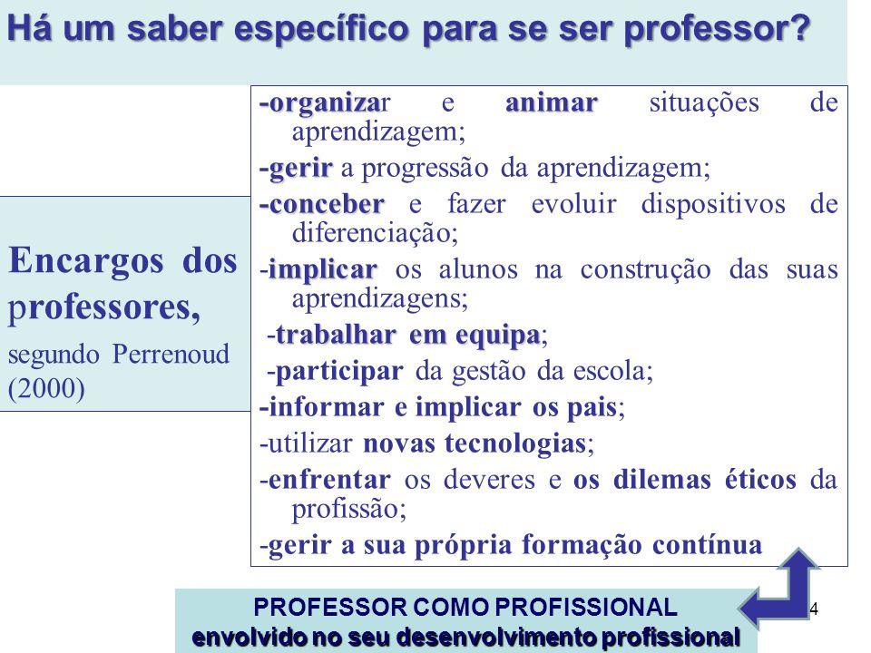 A formação inicial de professores em Portugal a partir da adequação ao Processo de Bolonha Assumir a perspetiva da aprendizagem ao longo da vida obriga a maioria dos países a darem maior apoio aos professores nos primeiros anos de ensino … …De uma maneira geral, seria mais adequado melhorar a inserção e o desenvolvimento profissional dos professores ao longo da carreira, em vez de aumentar a duração da formação inicial (OCDE, 2005, p.13) As etapas de formação inicial, inserção e desenvolvimento profissional deveriam estar muito mais relacionadas, de forma a criar aprendizagens coerentes e um sistema de desenvolvimento profissional docente (ibidem) Reflete-se sobre as possibilidades de concretizar a posição da OCDE, 2005: Esta ideia pressupõe