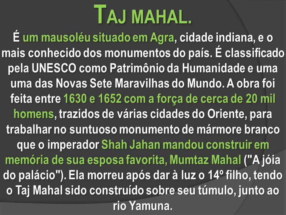 T AJ MAHAL.