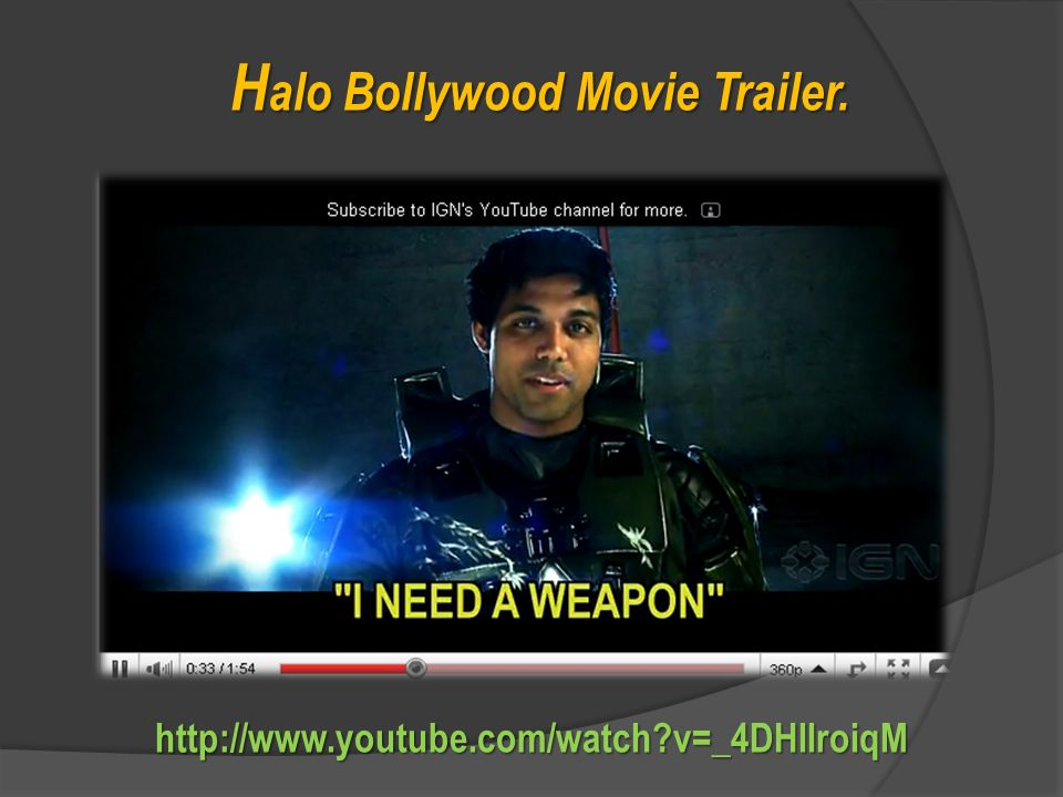 http://www.youtube.com/watch?v=CHyJuCAa9m8 C omédia MTV - Dr. Bollywood.
