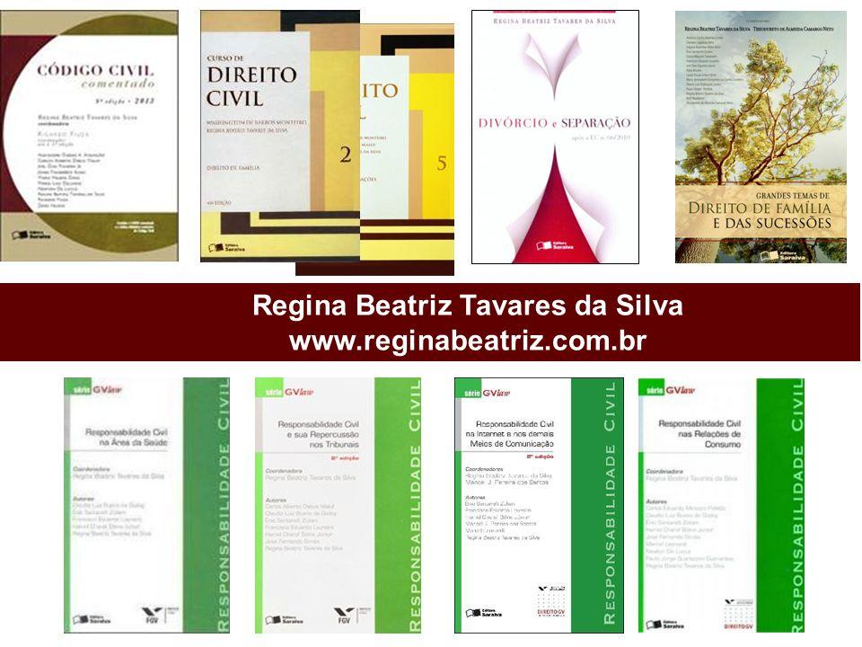 Regina Beatriz Tavares da Silva www.reginabeatriz.com.br