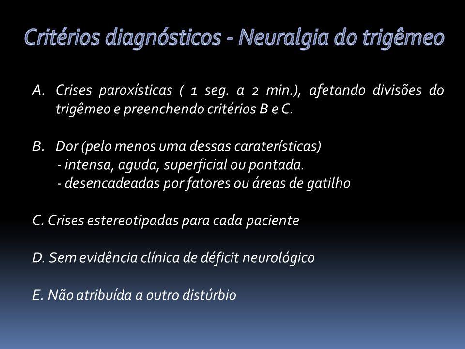 A.Crises paroxísticas ( 1 seg.