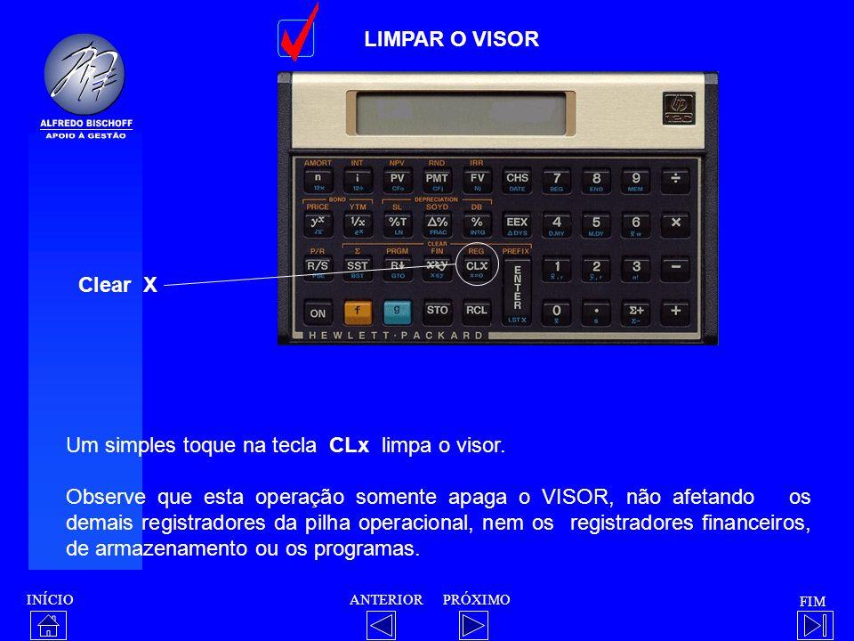 INÍCIO FIM ANTERIORPRÓXIMO MODO DE CÁLCULO COM DATAS Sendo a calculadora americana, ela vem originalmente preparada para calcular datas pelo sistema utilizado pelos americanos: MÊS/DIA/ANO.