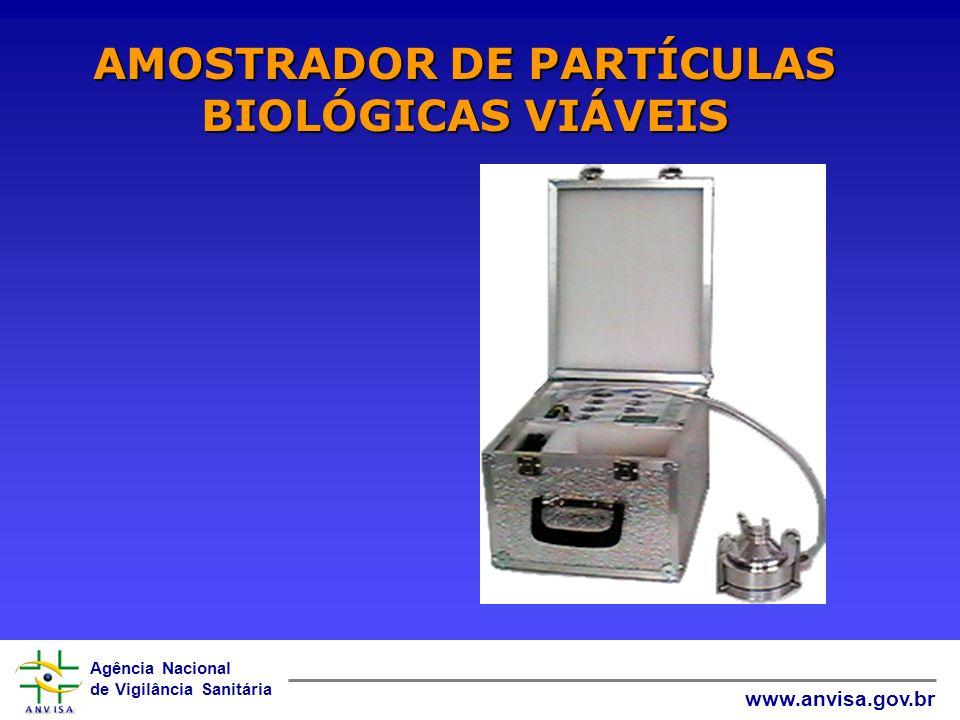 Agência Nacional de Vigilância Sanitária www.anvisa.gov.br AMOSTRADOR DE PARTÍCULAS BIOLÓGICAS VIÁVEIS