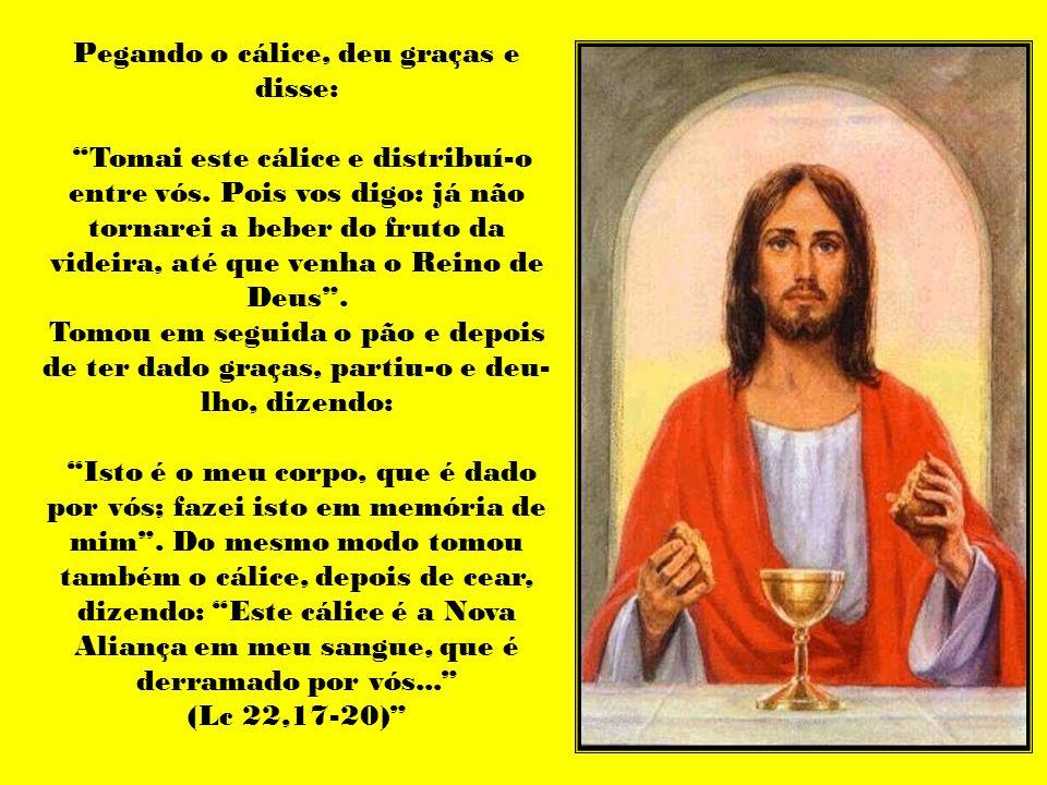Caríssimos, Dentre as celebrações rituais da Igreja apostólica, a que é recordada com certo relevo, e também descrita em suas linhas maiores nos escritos do Novo Testamento, é certamente a ceia do Senhor (1 Cor 11,23-25).
