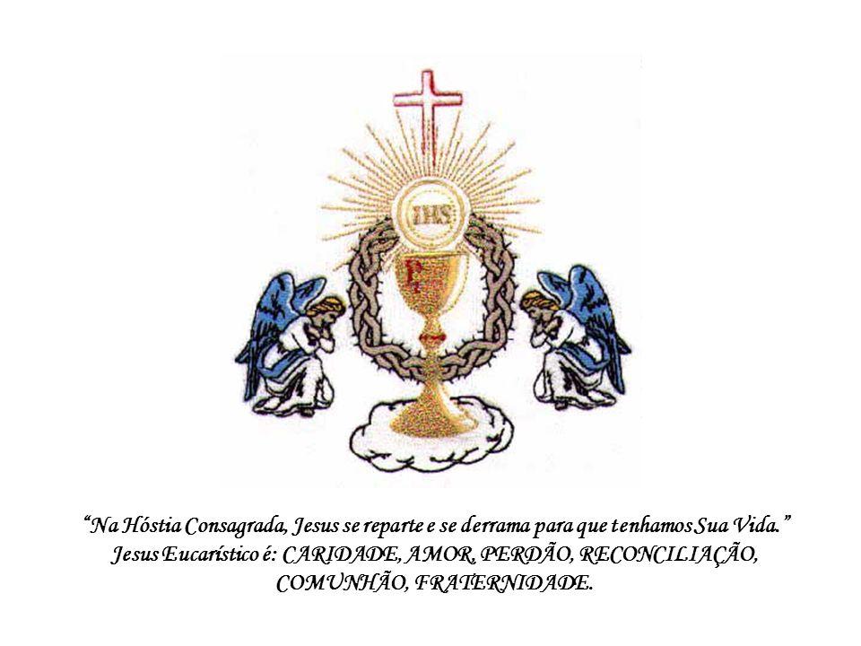 Na comunhão eucarística, realiza-se de modo sublime a inabitação mútua de Cristo e do discípulo: Permanecei em mim e eu permanecerei em vós (Jo 15,4)