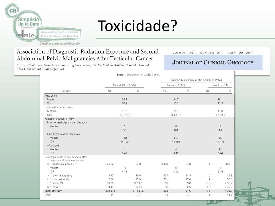 Toxicidade?