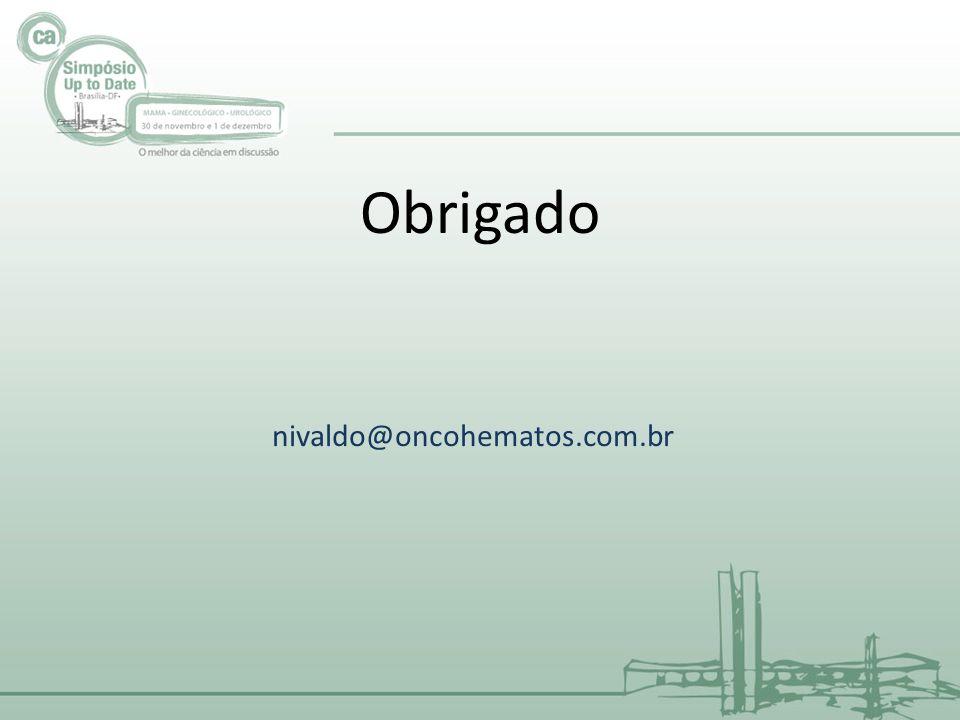 nivaldo@oncohematos.com.br Obrigado