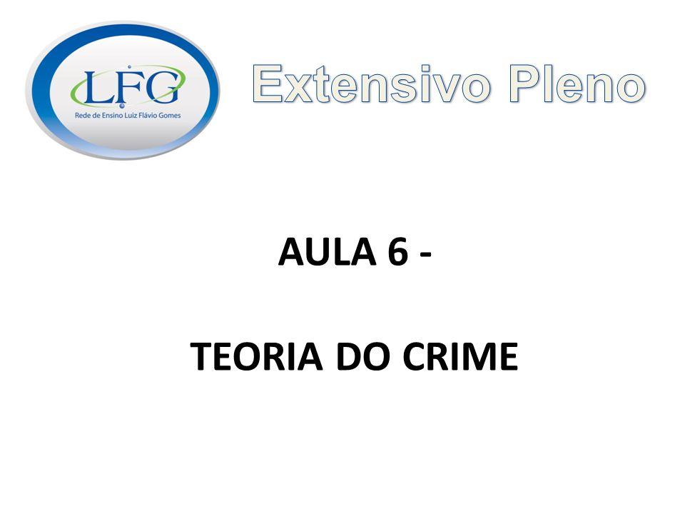 AULA 6 - TEORIA DO CRIME