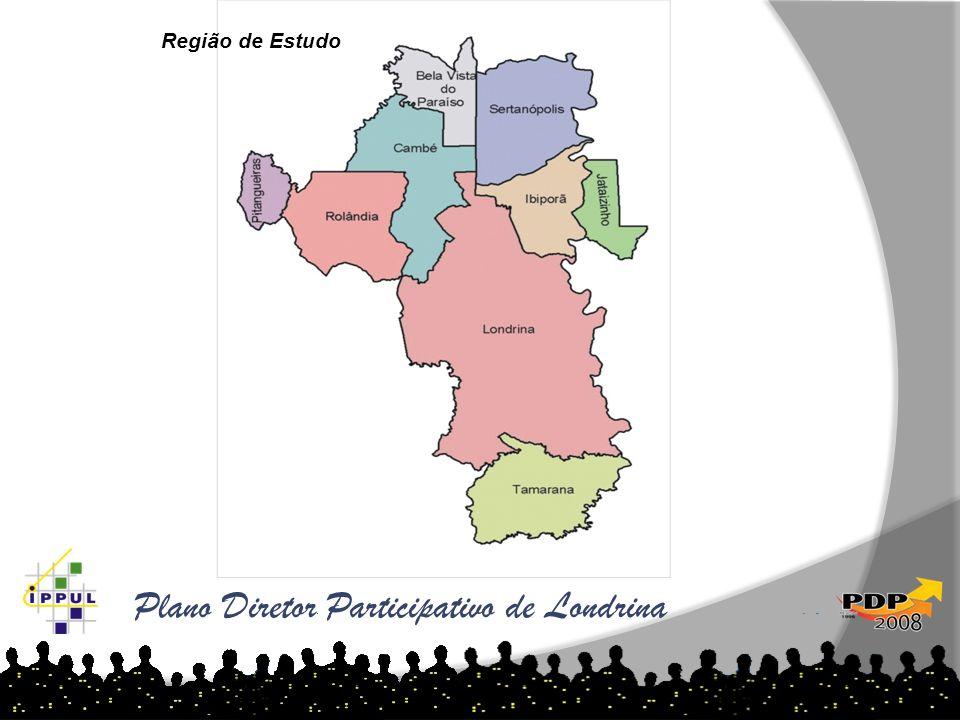 Plano Diretor Participativo de Londrina Região de Estudo