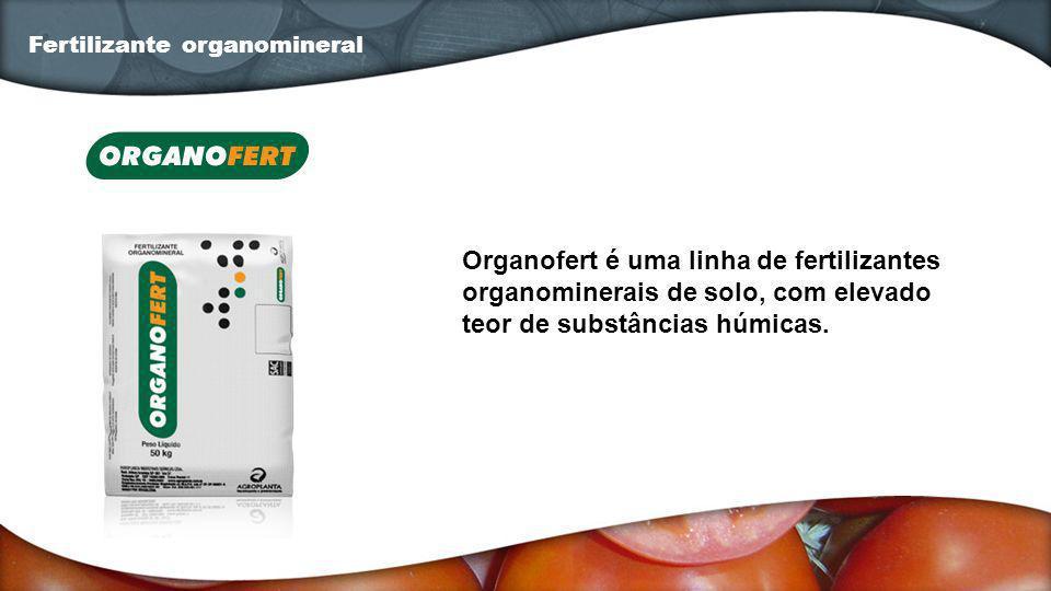 Organofert é uma linha de fertilizantes organominerais de solo, com elevado teor de substâncias húmicas. Fertilizante organomineral