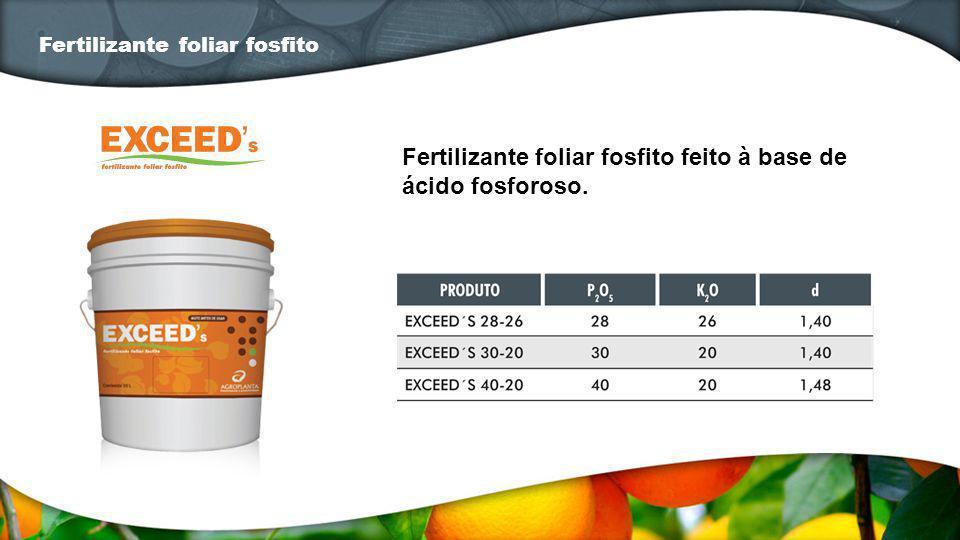 Fertilizante foliar fosfito feito à base de ácido fosforoso. Fertilizante foliar fosfito