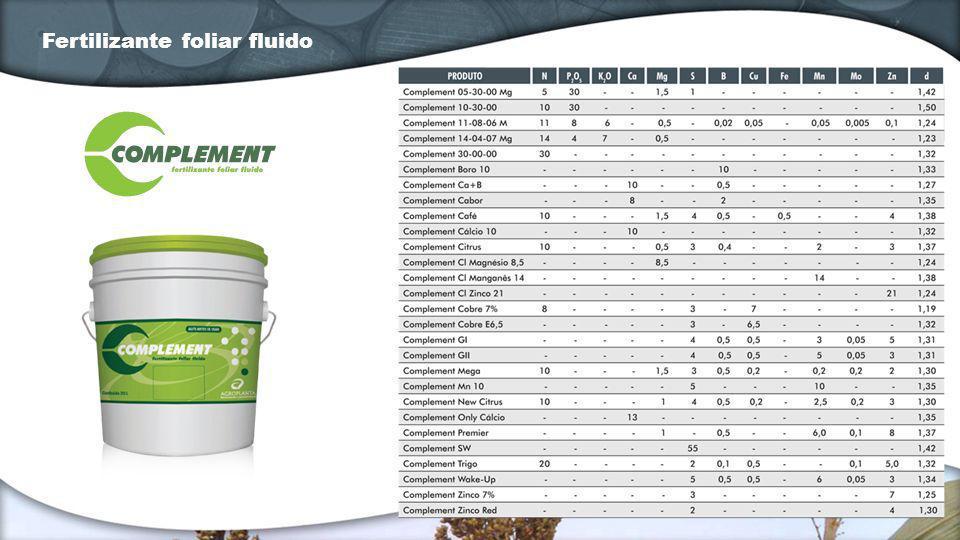 Fertilizante totalmente solúvel em água, desenvolvido especialmente para aplicação foliar.