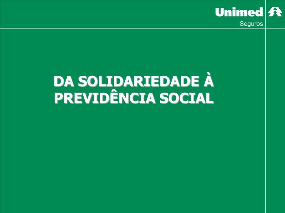 DA SOLIDARIEDADE À PREVIDÊNCIA SOCIAL