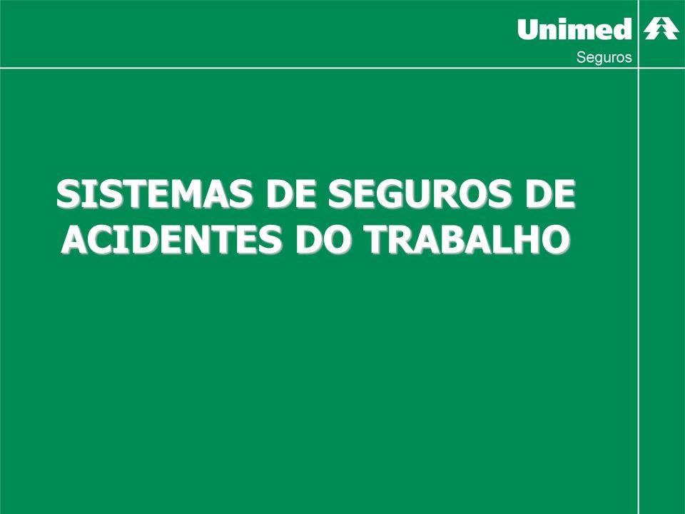 SISTEMAS DE SEGUROS DE ACIDENTES DO TRABALHO