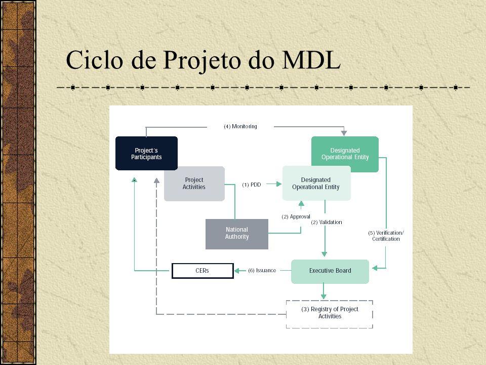 Ciclo de Projeto do MDL