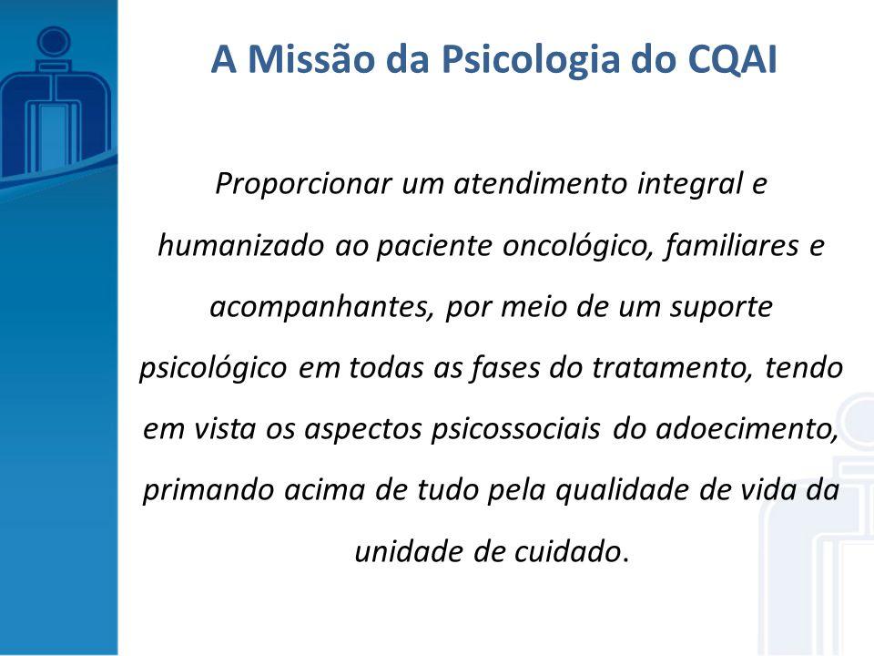 Proporcionar um atendimento integral e humanizado ao paciente oncológico, familiares e acompanhantes, por meio de um suporte psicológico em todas as f