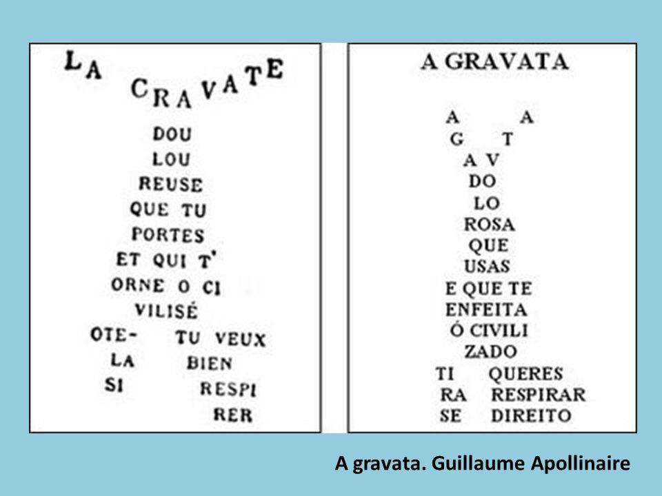 A gravata. Guillaume Apollinaire