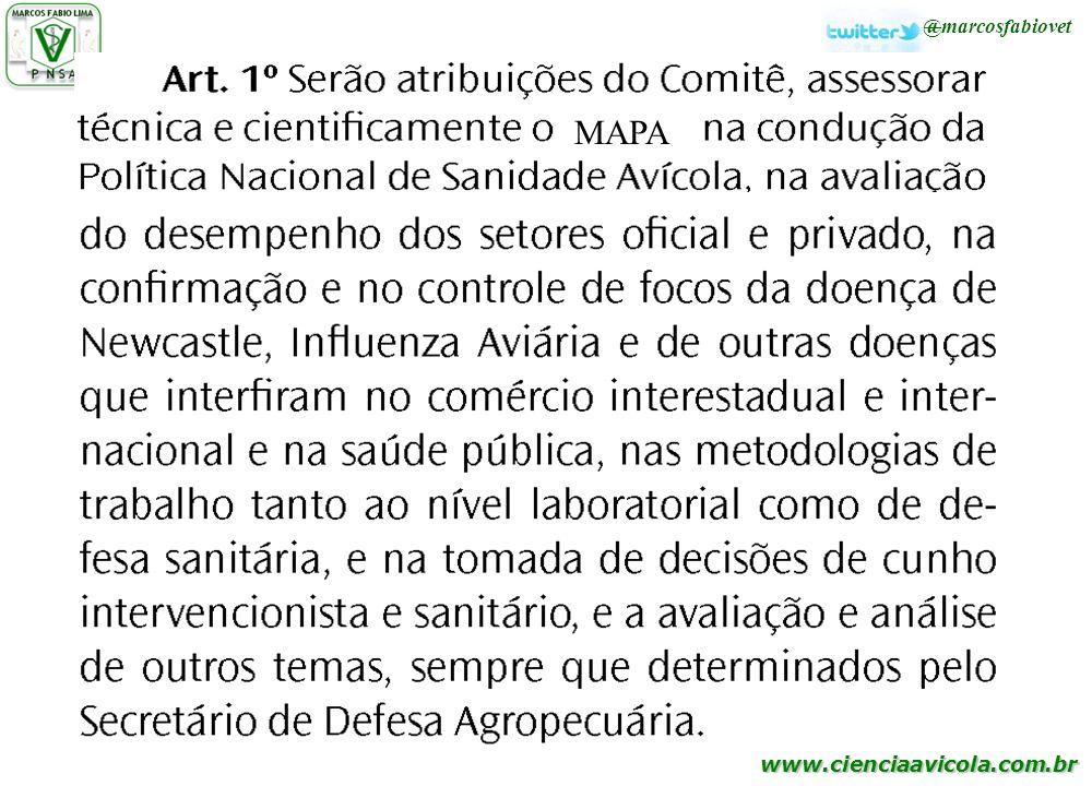 www.cienciaavicola.com.br MAPA