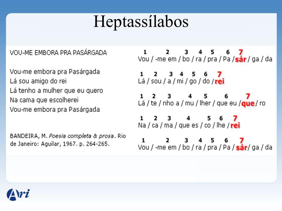 Heptassílabos