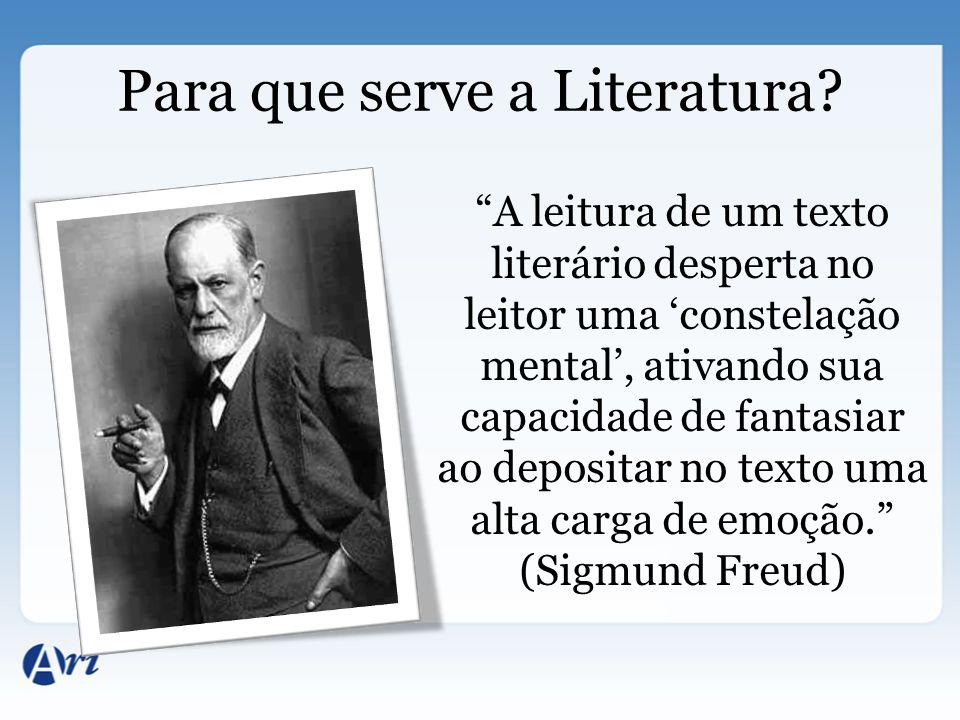 Para que serve a Literatura? A leitura de um texto literário desperta no leitor uma constelação mental, ativando sua capacidade de fantasiar ao deposi
