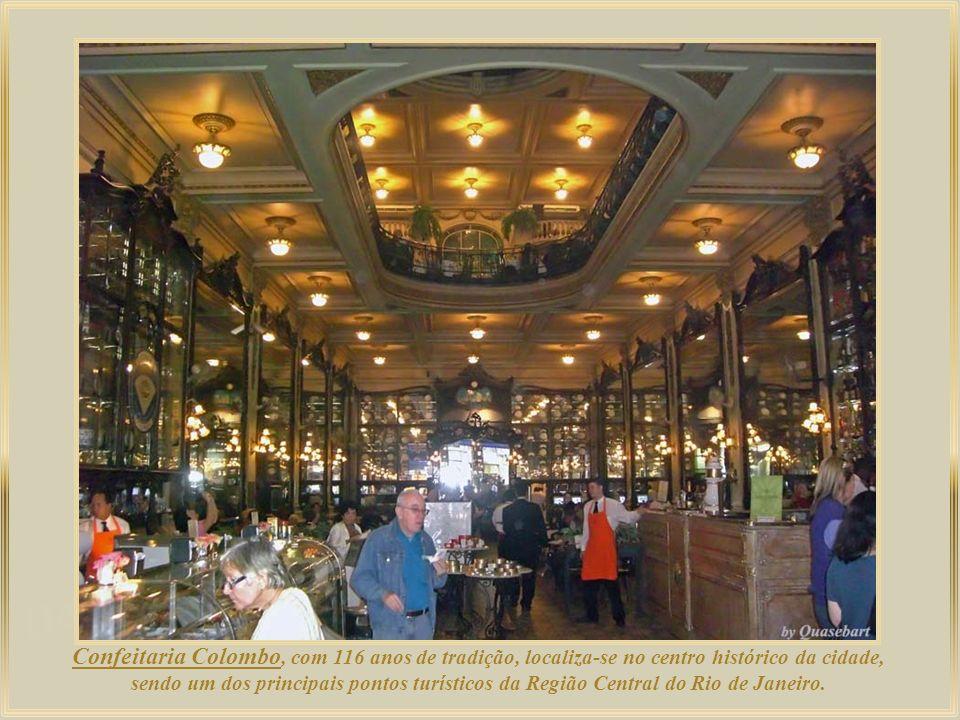 Palácio Pedro Ernesto, sede do Legislativo Carioca, abriga obras de grandes pintores reconhecidos internacionalmente. O tríptico de Eliseu Visconti no