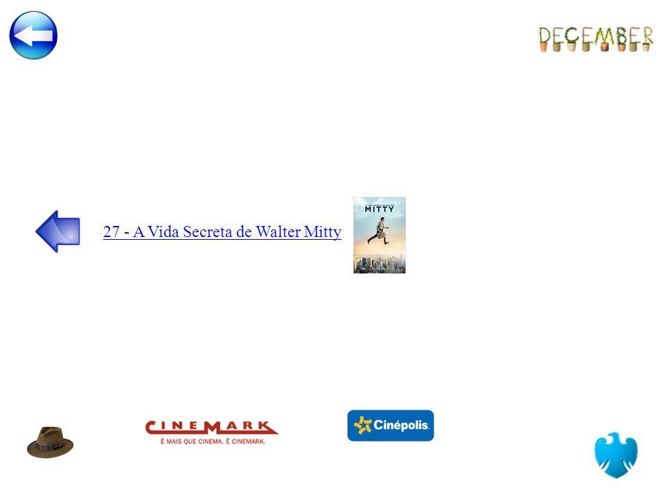 27 - A Vida Secreta de Walter Mitty