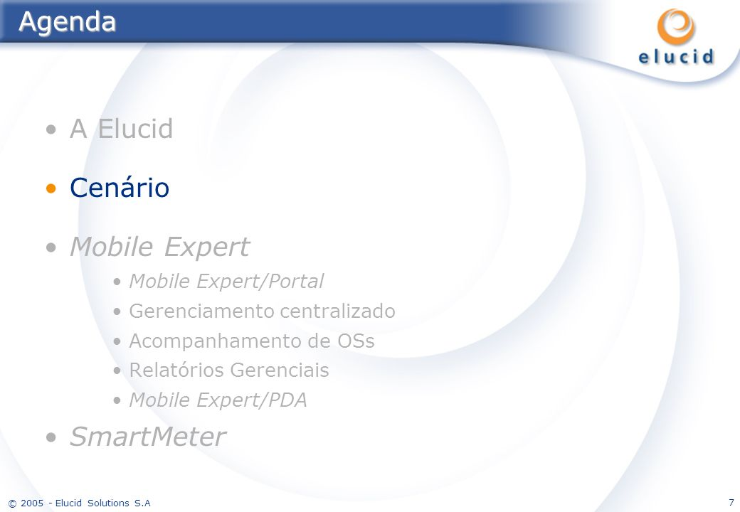 © 2005 - Elucid Solutions S.A.