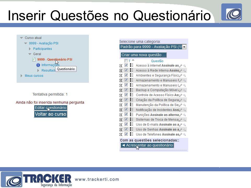 Editar Questões