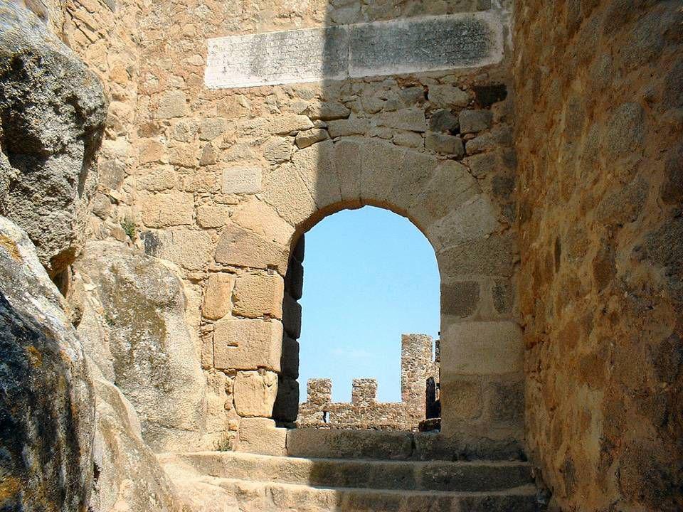 A entrada do Castelo