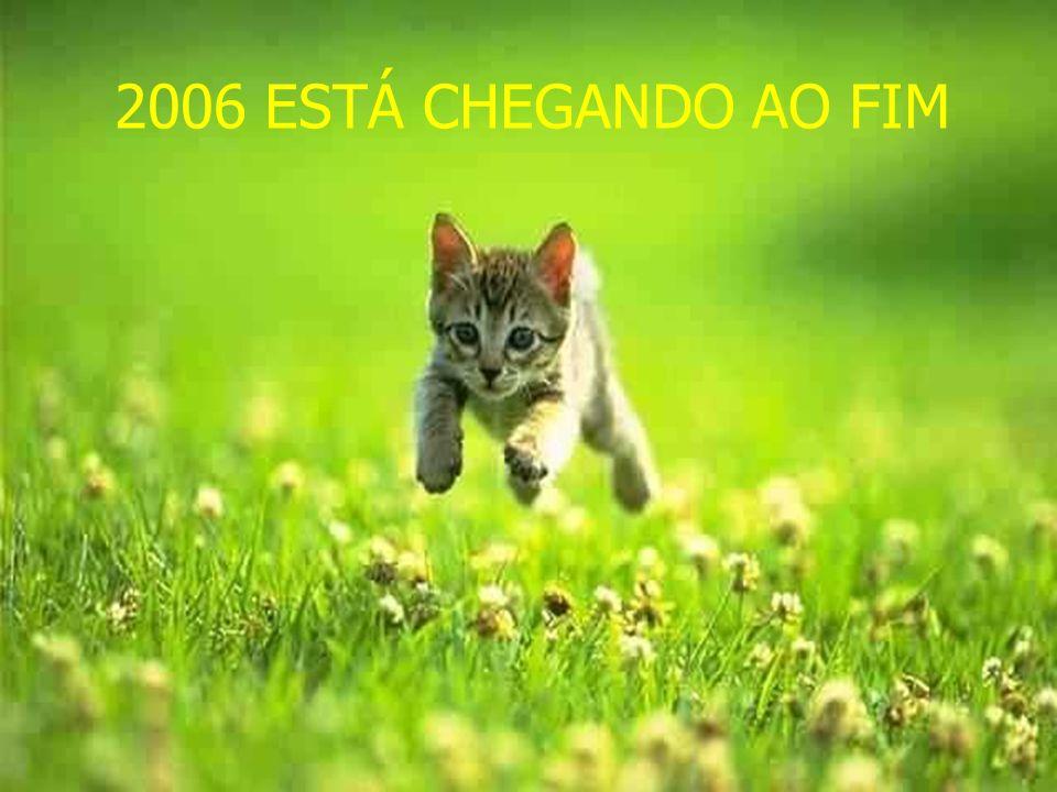 2006 ESTÁ CHEGANDO AO FIM