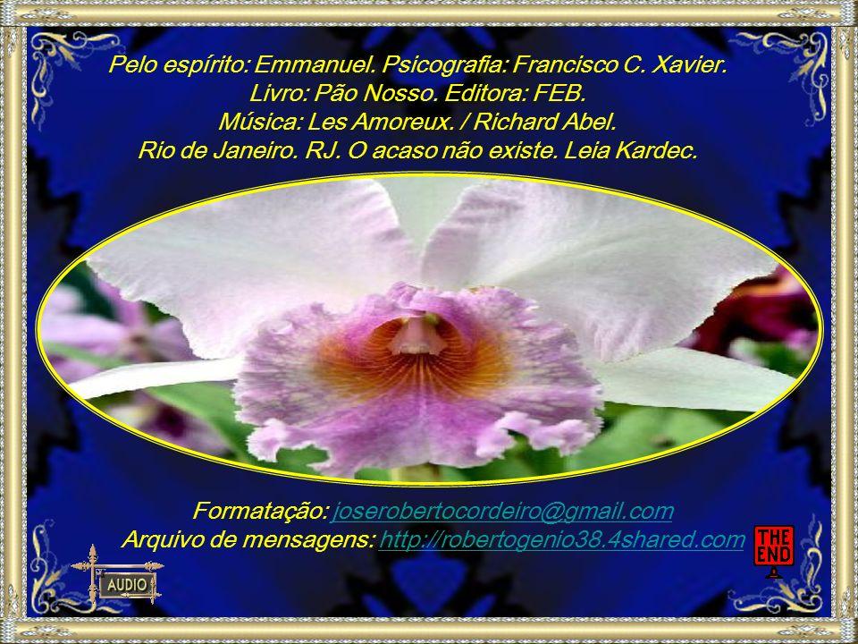 Pelo espírito: Emmanuel.Psicografia: Francisco C.