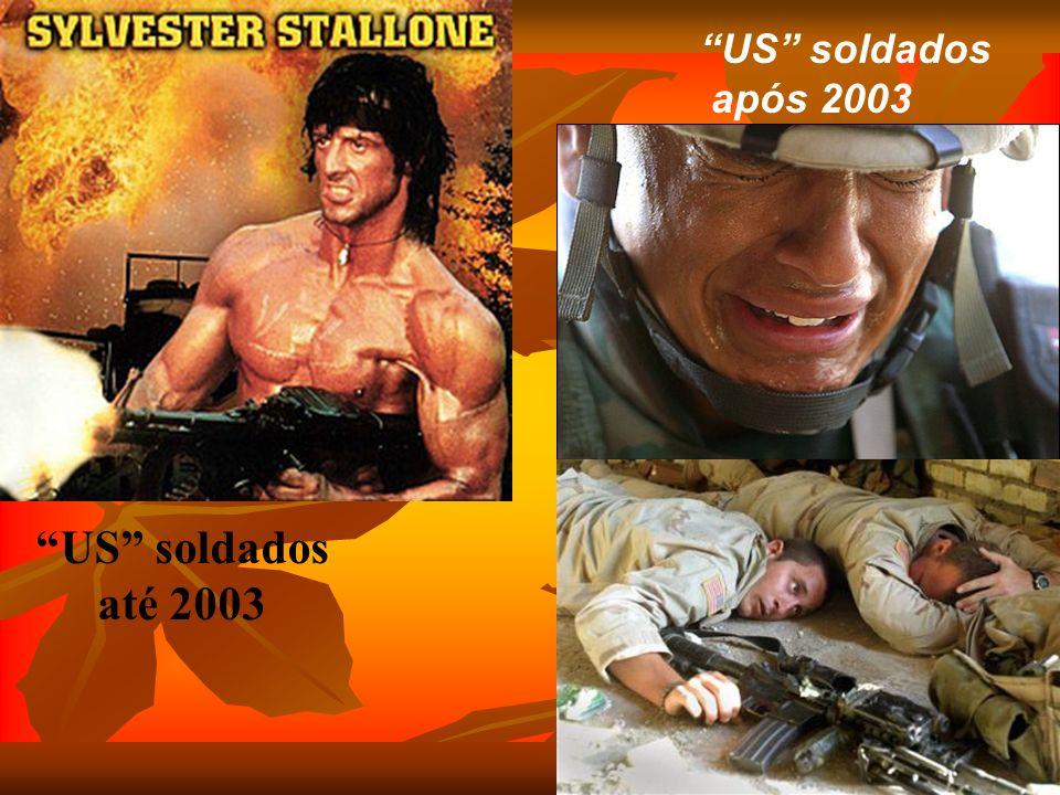 US soldados até 2003 US soldados após 2003