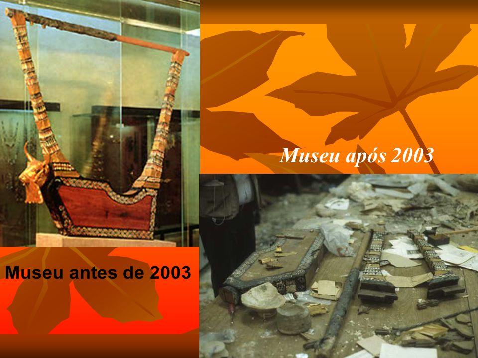 Museu após 2003 Museu antes de 2003
