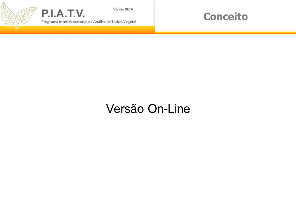 Conceito Versão On-Line