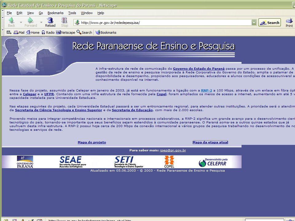 Rede Nacional de Ensino e Pesquisa Paraná - RPEP