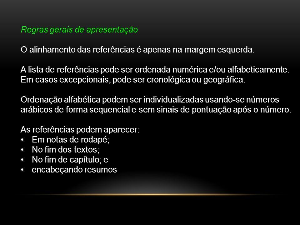 Exemplo de documentos on-line EX: LUCENA, J.C. P.