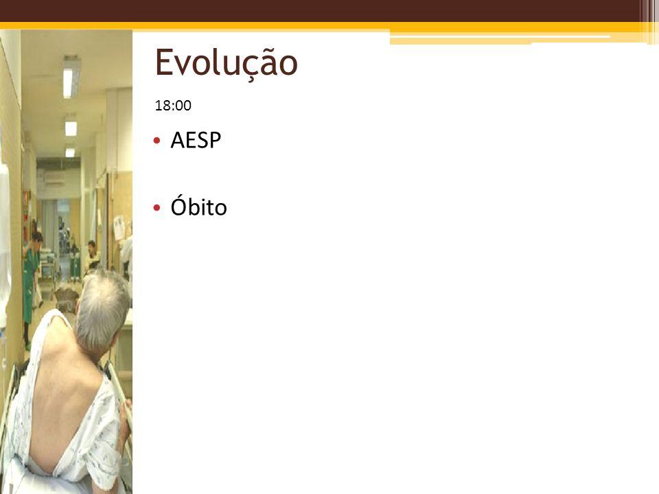 Evolução AESP Óbito 18:00