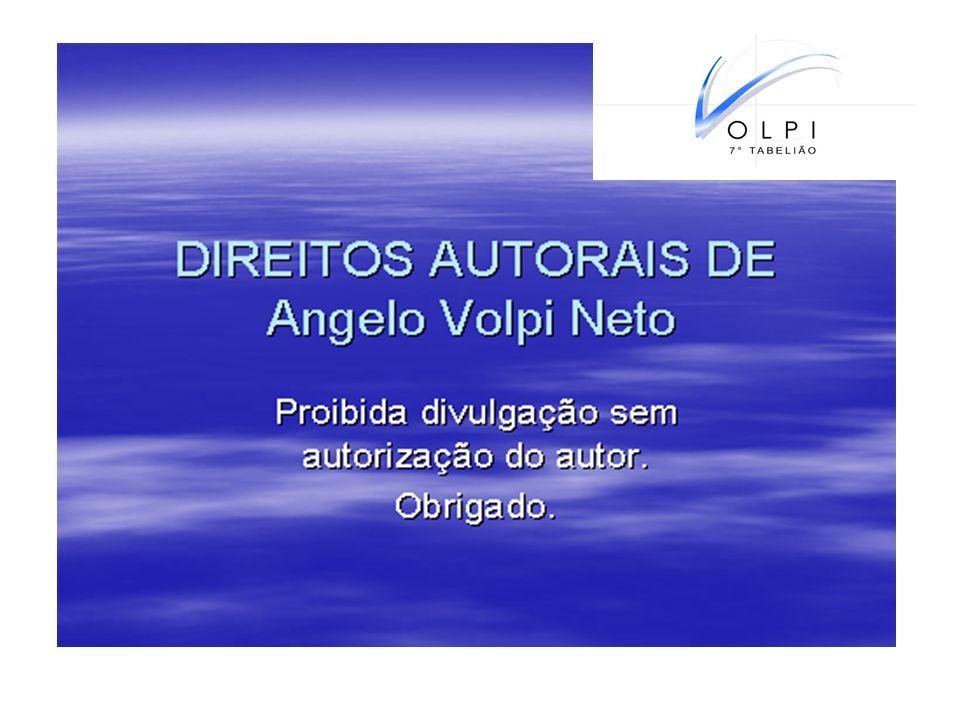 Angelo Volpi Neto, Tabelião, escritor, consultor, formado em Direito pela PUC-Pr., Professor e Coordenador de Pós Graduação em Direito Imobiliário da Universidade POSITIVO.