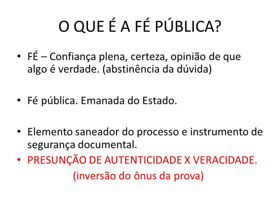 TIPOS DE SERVIÇOS NOT E REG Lei 8935/94 Art.5 I- Tabelião de Notas.