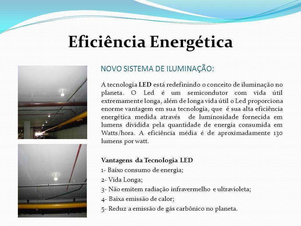 NOVO SISTEMA DE ILUMINAÇÃO: A tecnologia LED está redefinindo o conceito de iluminação no planeta. O Led é um semicondutor com vida útil extremamente