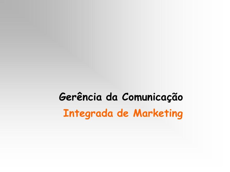 Gerência da Comunicação Integrada de Marketing