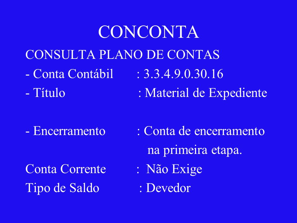 CONTAS DE RESULTADO 5.