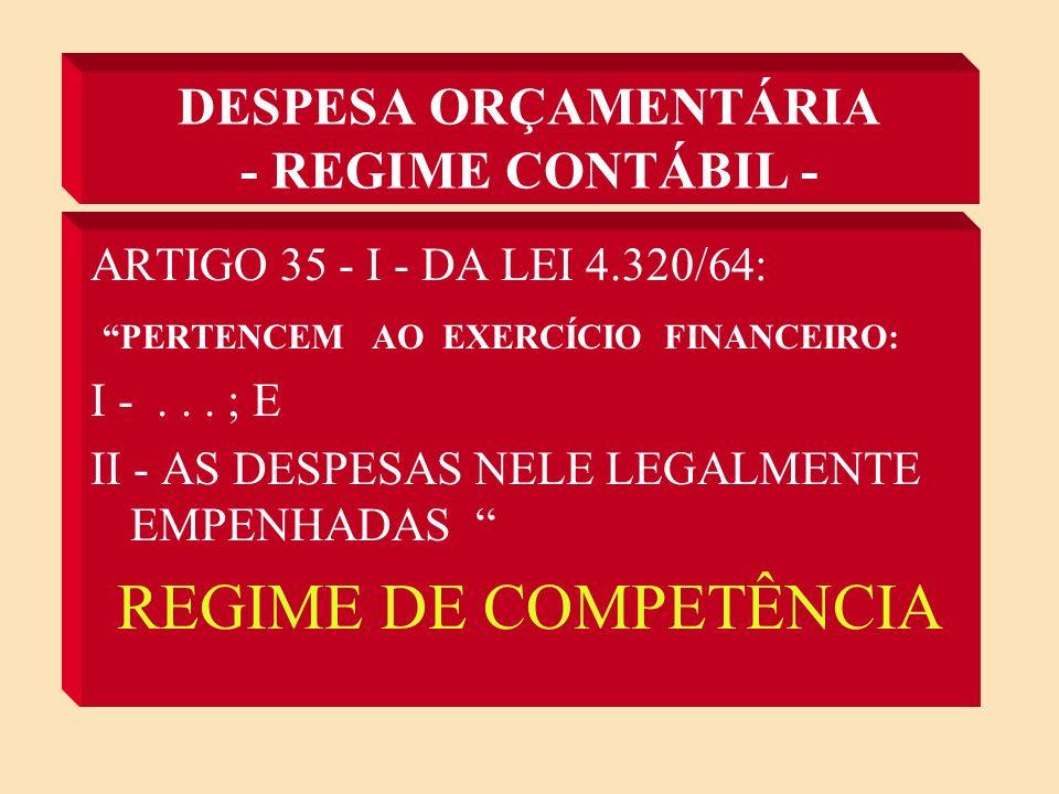 DESPESA ORÇAMENTÁRIA - ESTÁGIOS - - FIXAÇÃO: DEFINIÇÃO DO LIMITE DOS GASTOS, TAMBÉM CHAMADA DE DOTAÇÃO.