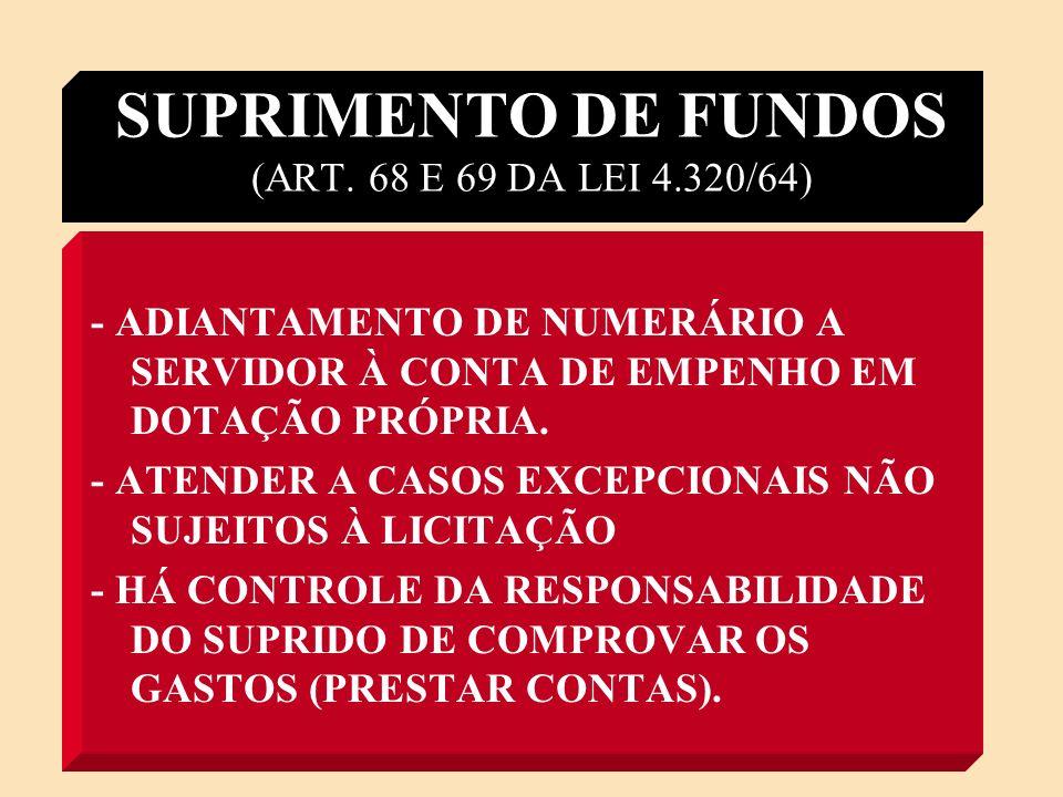 DESPESAS DE EXERCÍCIOS ANTERIORES D.E.A.(ART.