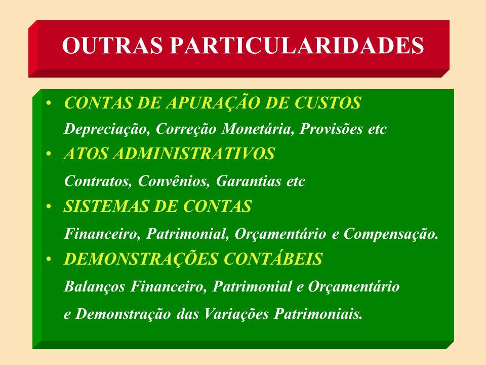 (ARTIGO 106 DA LEI 4.320/64) CRÉDITOS E DÉBITOS PELO VALOR NOMINAL BENS MÓVEIS E IMÓVEIS VALOR DE AQUISIÇÃO OU CUSTO DE CONSTRUÇÃO BENS DE ALMOXARIFADO PREÇO MÉDIO PONDERADO DAS COMPRAS OBS: PODERÃO SER FEITAS REAVALIAÇÕES DOS BENS MÓVEIS E IMÓVEIS AVALIAÇÃO DE ITENS PATRIMONIAIS