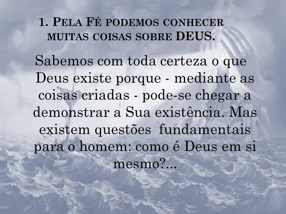 A RESPOSTA DO HOMEM A DEUS : CRER A RESPOSTA DO HOMEM A DEUS : CRER A fé é um grande dom de Deus, necessário para a nossa salvação; e a resposta do ho